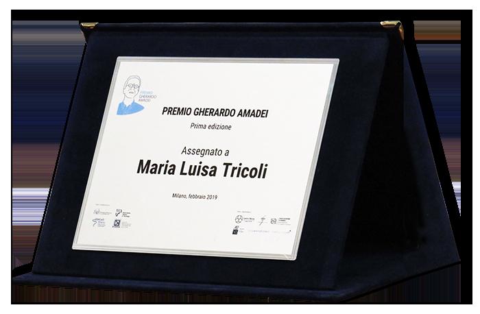 Maria Lusia Tricoli - Premio Gherardo Amidei
